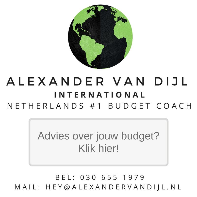 budgetcoaching met Alexander van Dijl